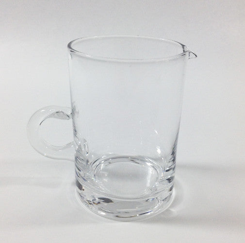 Glass Creamer with Loop Handle