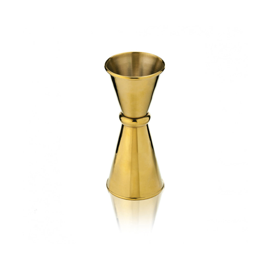 Gold Plated Jigger - .5 oz / 1 oz
