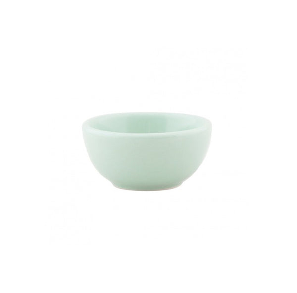 Mint Condiment/Nut Bowl, two ounces green