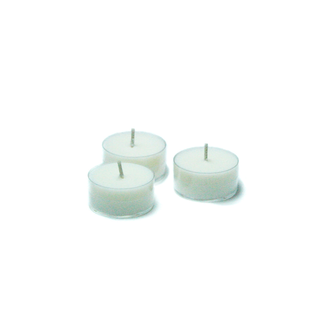Twelve Scented Tea Light Candles - Coconut Lime