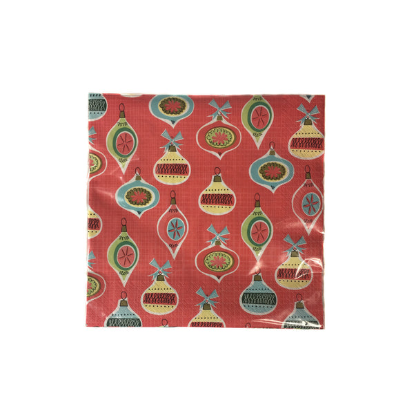 Merry and Bright Paper Napkins, 20 per package