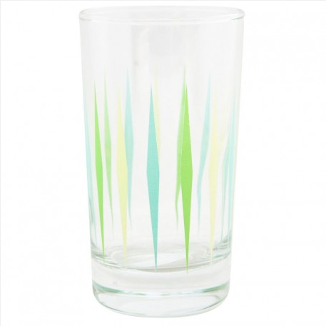 Green Diamond Juice Glass