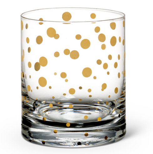 Gold Bubble Tumbler