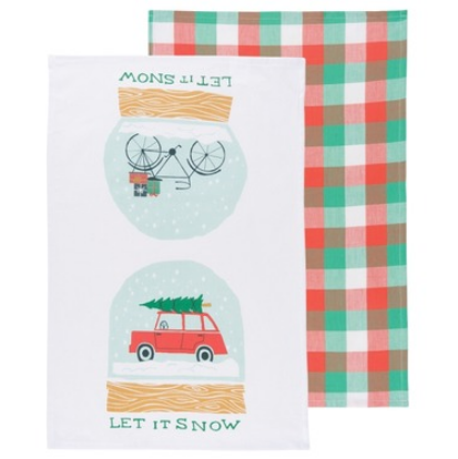 Let It Snow Dish Towel Set