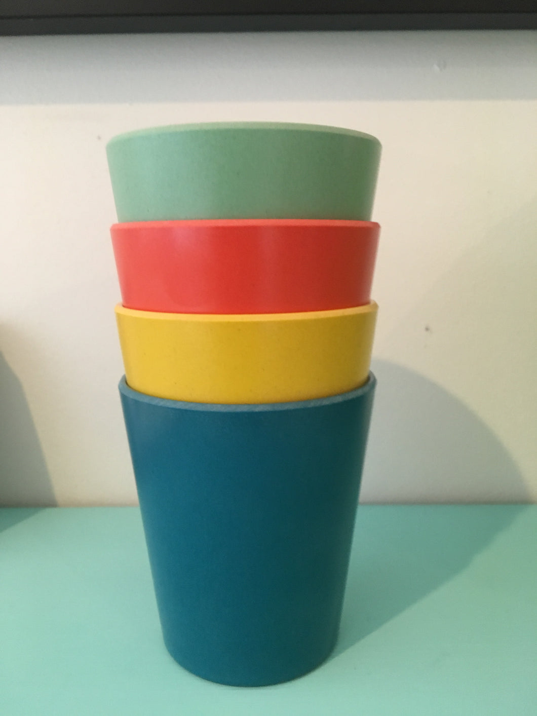 Ecologie Fiesta Coloured Cups green