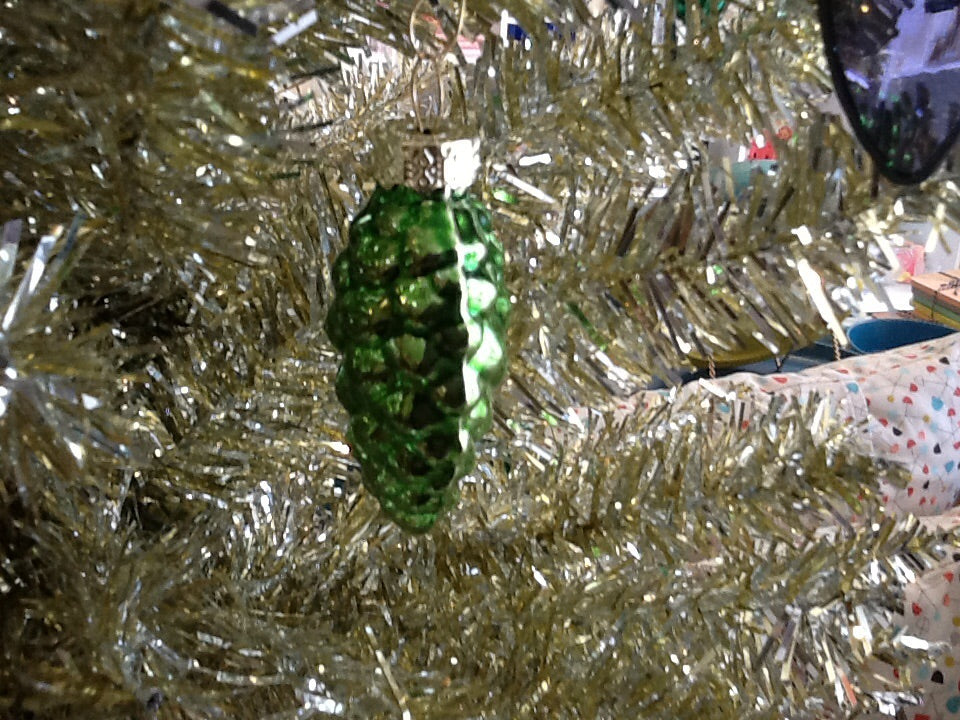 Mercury Glass PINECONE Ornament Individual All Colours