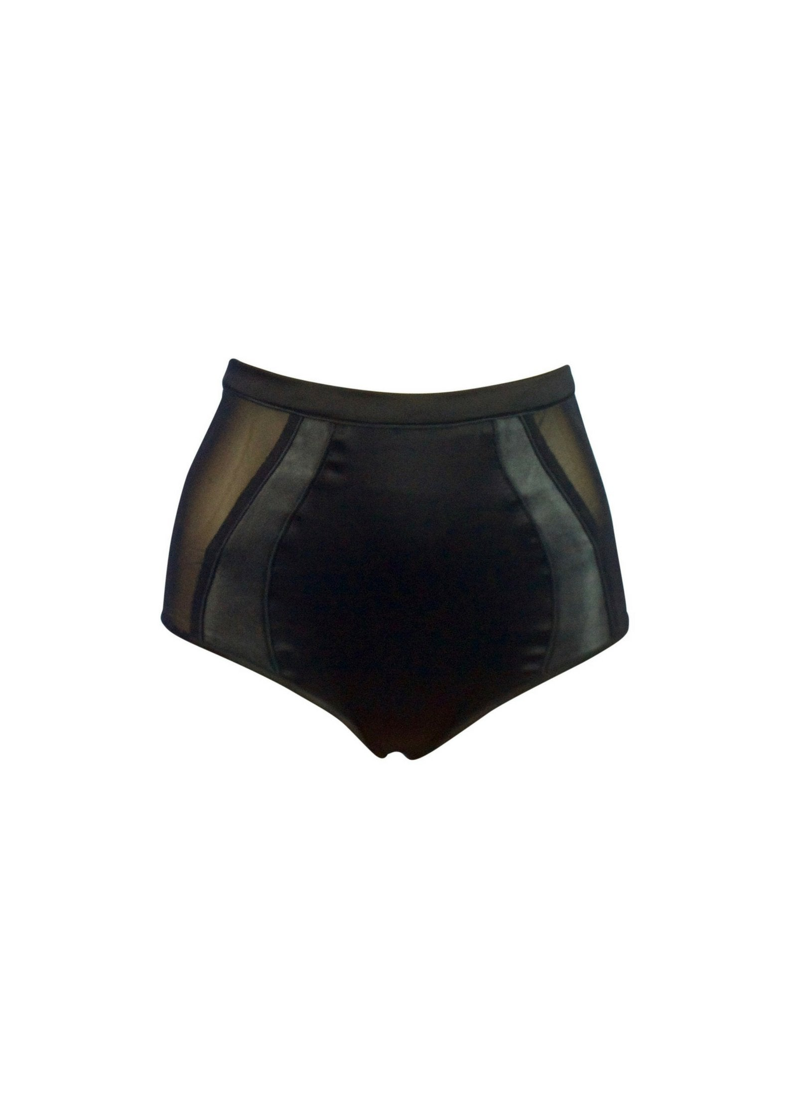 Lola 'n' Leather High waisted knickers - Available to pre-order now