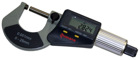 Inch/Metric Digital Outside Micrometer