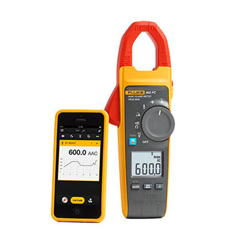True RMS Wireless HVAC Clamp Meter