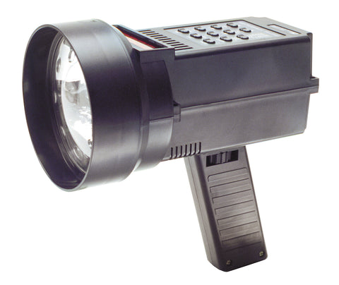 10 to 10,500 rpm Flash Range Stroboscope with 6500°K Xenon white lamp