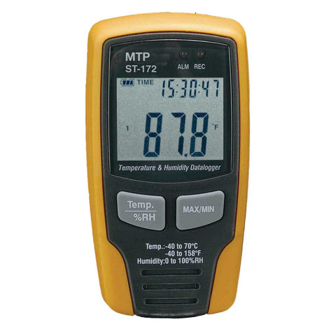 Wall Mount Datalogger Humidity Meter