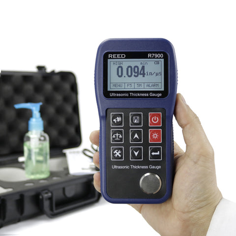 Advanced Ultrasonic Thickness Meter