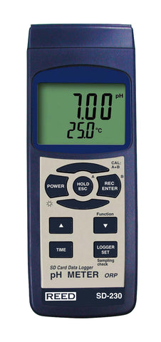 pH and ORP Meter (data logger)