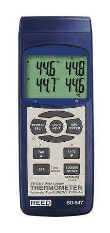 High Temperature Thermometer (Datalogger)