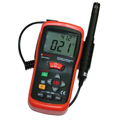 Infrared Thermometer and Humidity Meter