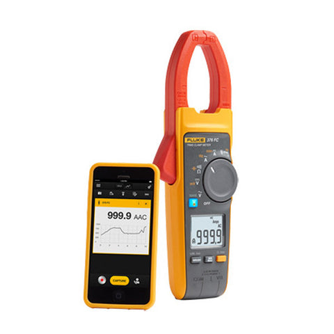 True-RMS Wireless AC/DC Clamp Meters
