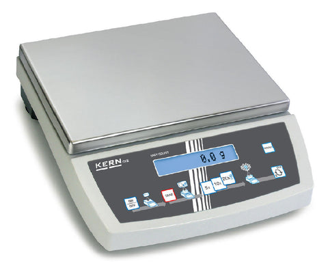Counting scale with laboratory accuracy