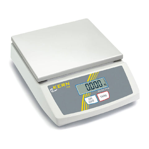 Compact letter and parcel scale