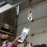 Crane scale with hand-held terminal