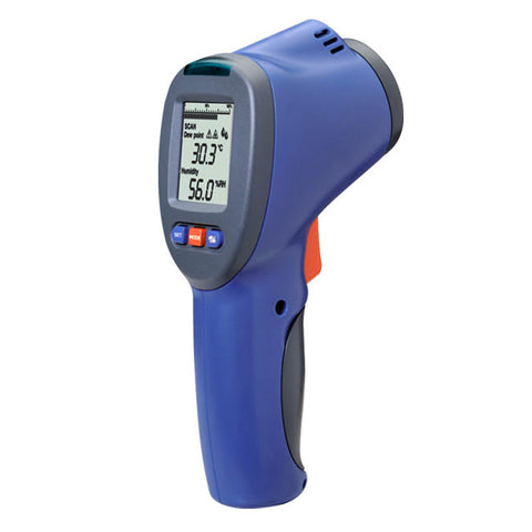 IR Thermo-Hygrometer with Dew Point