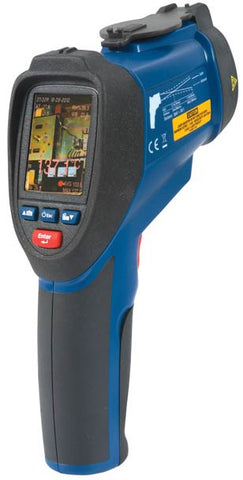 Infrared Video Thermometer Data Logger with dual laser