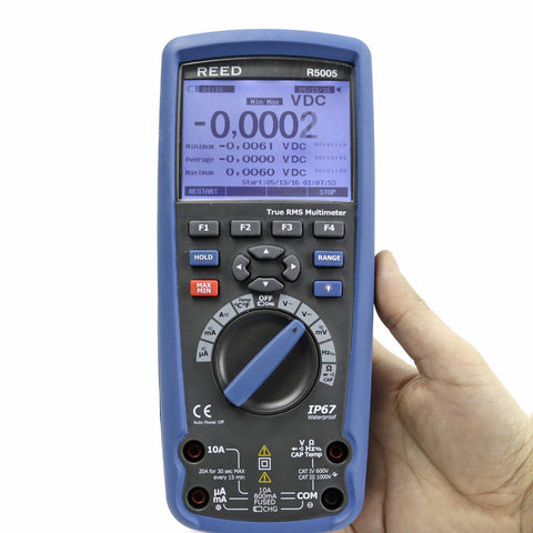1000V DC/AC True RMS Datalogger Multimeter