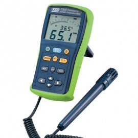 Datalogging Humidity Temperature Meter with Detachable Probe
