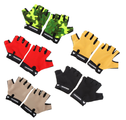 Breathable Anti-slip Gloves Outdoor Sports Gloves Hiking Cycling Multifunction Fitness Half Finger Gloves
