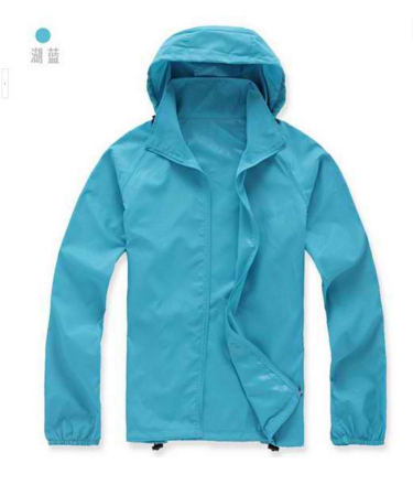 New Arrive Brand XS-XXXL Women Men Ultra-light Outdoor Sport Waterproof Jacket Quick-dry Clothes Skinsuit Plus Size Outwear