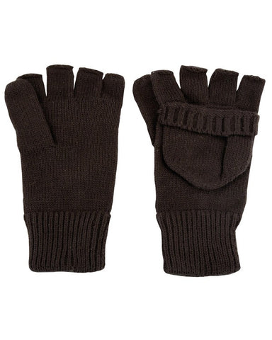 KombatUK Shooters Mitts - Black