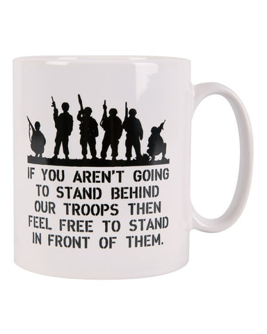 KombatUK Behind Troops - MUG