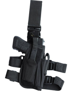KombatUK Tactical Leg Holster - Black