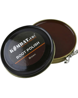 KombatUK Parade Gloss Shoe Polish - BROWN