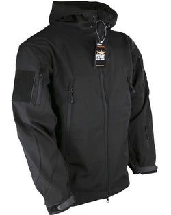 KombatUK Patriot - soft shell - shark skin jacket - Black
