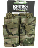 KombatUK Double Duo Mag Pouch - BTP