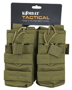 KombatUK Double Duo Mag Pouch - Coyote