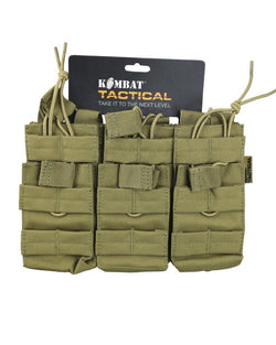 KombatUK Triple Duo Mag Pouch - Coyote