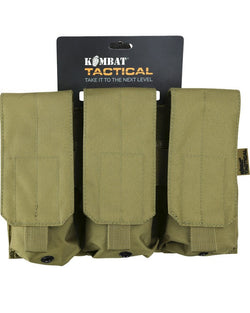 KombatUK Triple ORIGINAL style Mag Pouch - Coyote