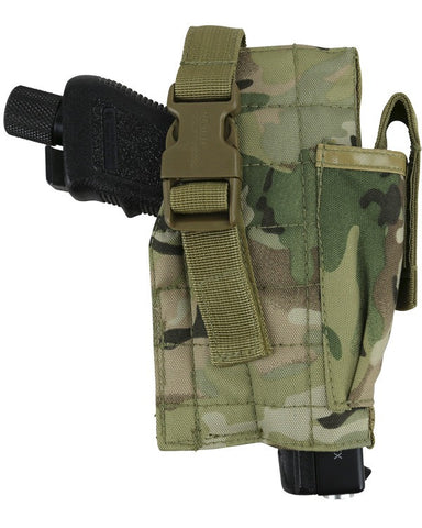 KombatUK Molle Gun Holster with Mag Pouch - BTP