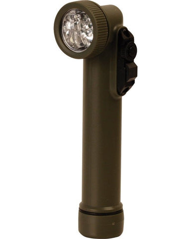 KombatUK LED Angle Torch & Flashlight - Olive Green