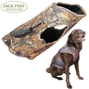 Jack Pyke Technical Neoprene Dog Vest - English Oak Camo