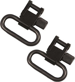 "Jack Pyke 1"" Rifle Sling Swivel Set - Black"