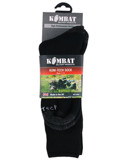 KombatUK Kom-Tech Sock - Olive/Charcoal