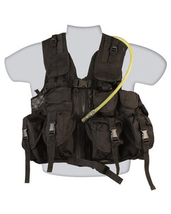 KombatUK Ultimate Assault Vest - Black