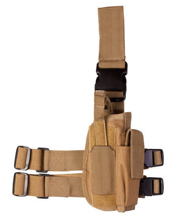 KombatUK Tactical Leg Holster-Coyote