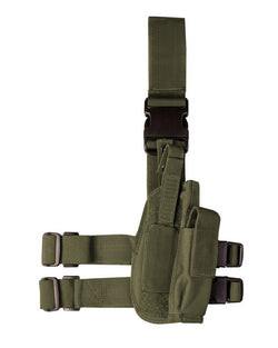 KombatUK Tactical Leg Holster - Olive Green