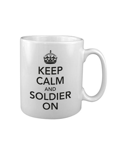 KombatUK Keep Calm and Soldier On MUG