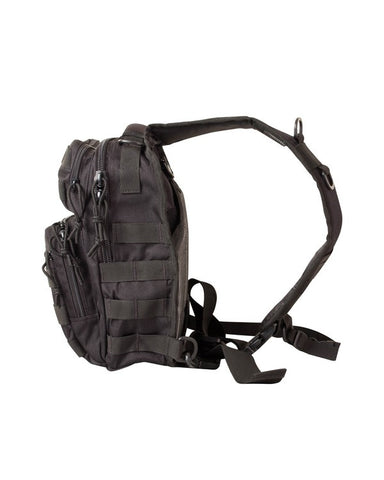 KombatUK Mini Molle Recon Shoulder Bag - Black