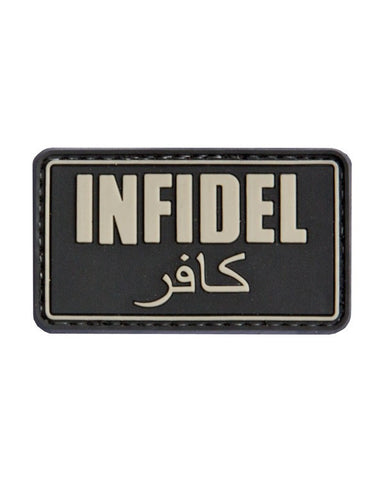 KombatUK Infidel Patch (Black)