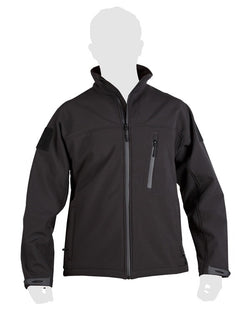 KombatUK TROOPER - Tactical soft shell jacket (Black)